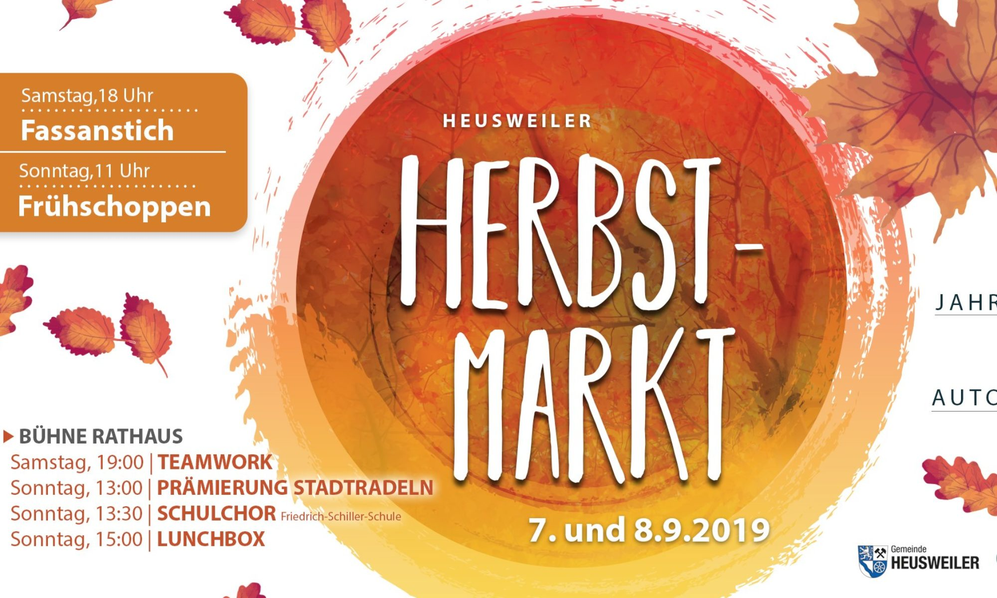 Heusweiler Herbstmarkt 2019